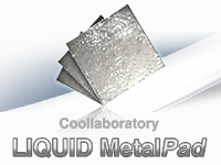 banner metalpad cube