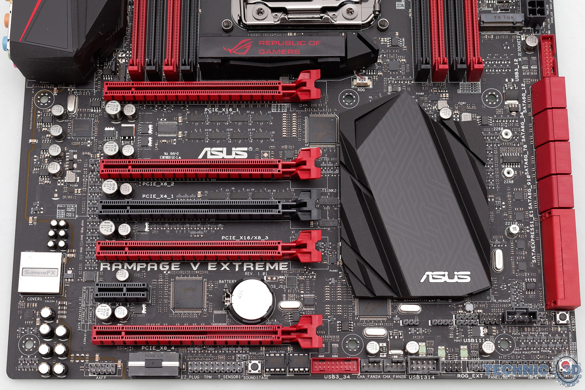 ASUS Rampage V Extreme Mainboard im Test | Review | Technic3D