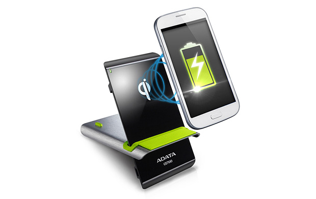 adata drahtlose ladestation elite ce700 f r das smartphone news technic3d. Black Bedroom Furniture Sets. Home Design Ideas