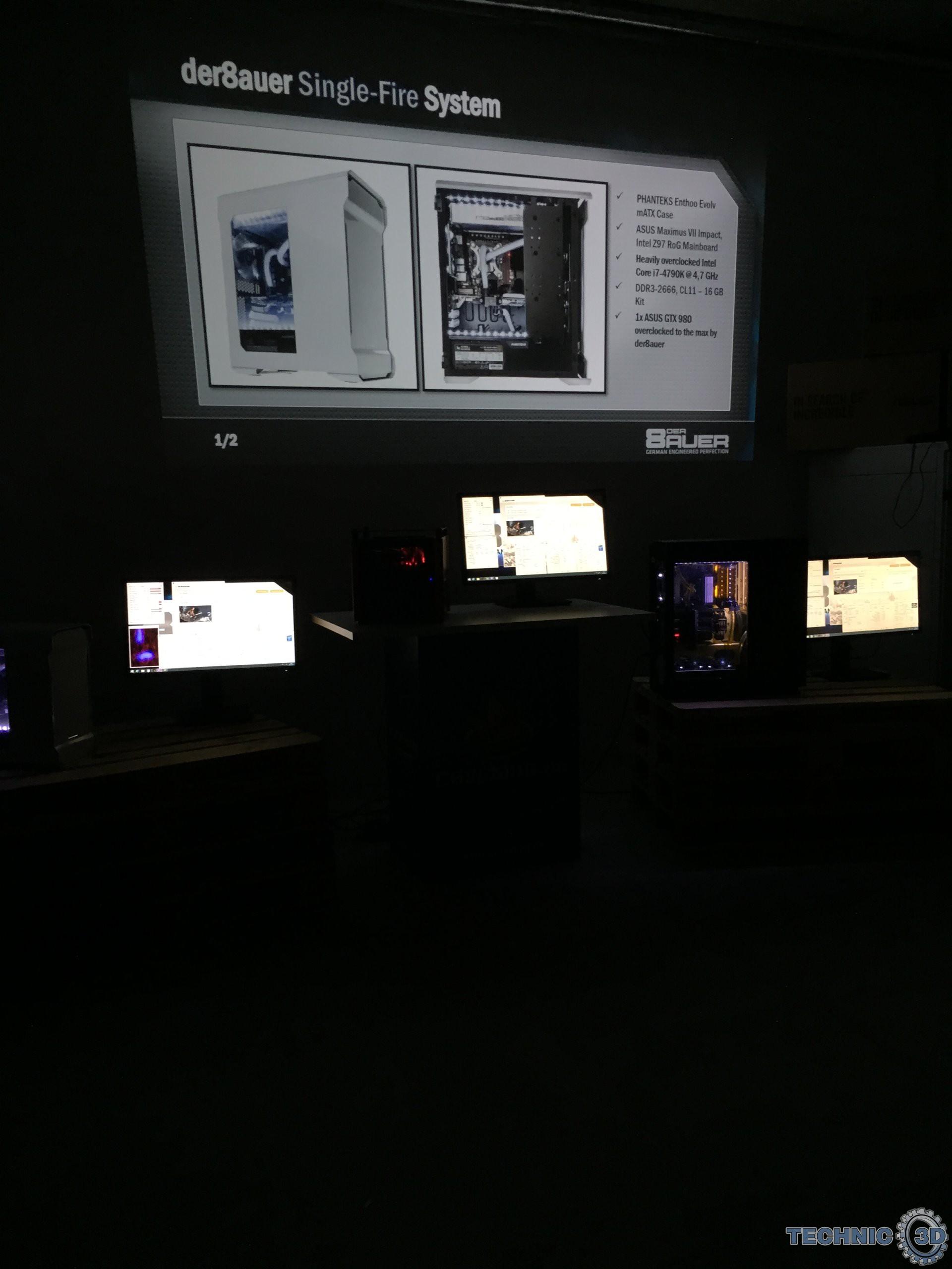 der8auer king mod systeme bei caseking news technic3d. Black Bedroom Furniture Sets. Home Design Ideas