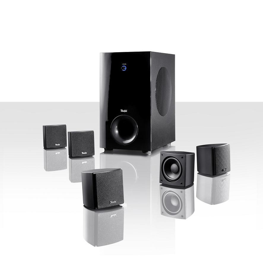 teufel mit drei neuen 5 1 heimkino soundsystemen news technic3d. Black Bedroom Furniture Sets. Home Design Ideas