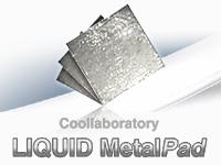 banner metalpad cube