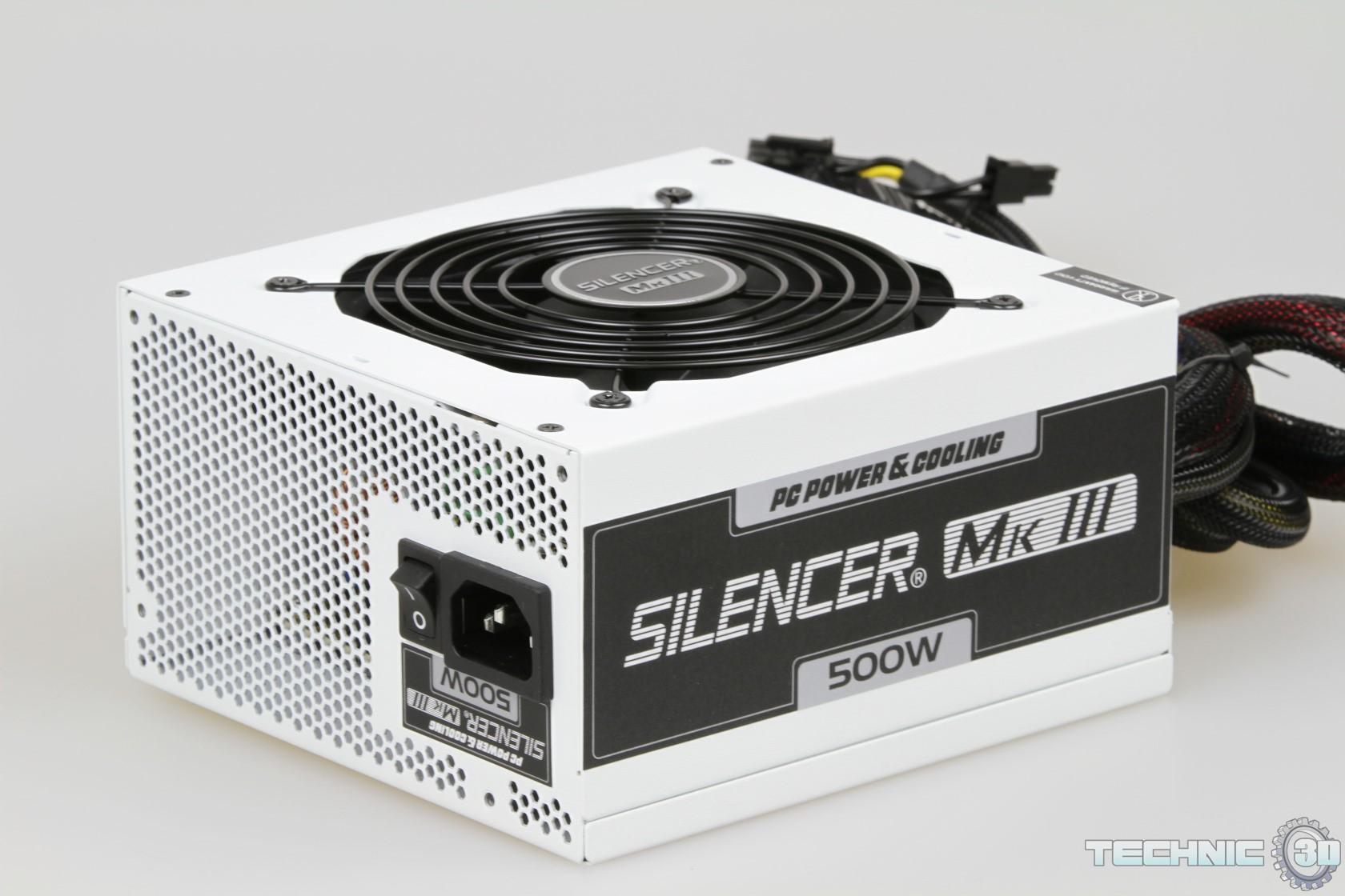 pc power cooling silencer mk iii 500 watt netzteil im test review technic3d. Black Bedroom Furniture Sets. Home Design Ideas