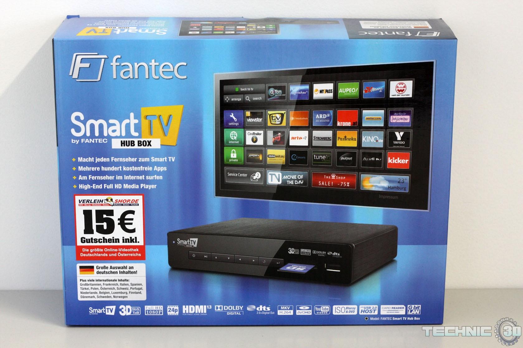 Fantec Smart TV Hub Box | Review | Technic3D