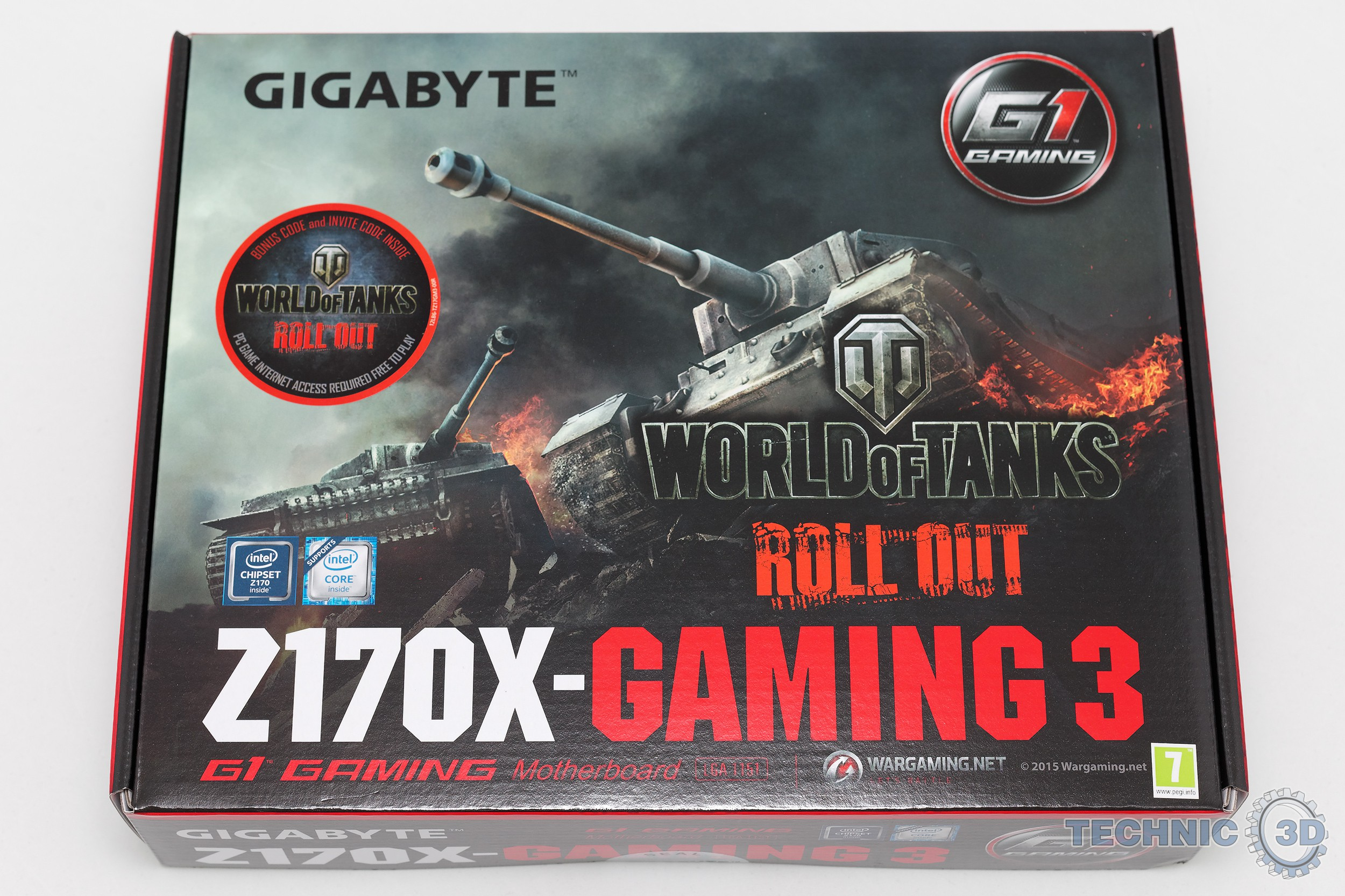 Gigabyte Z170X-Gaming 3 Mainboard im Test | Review | Technic3D
