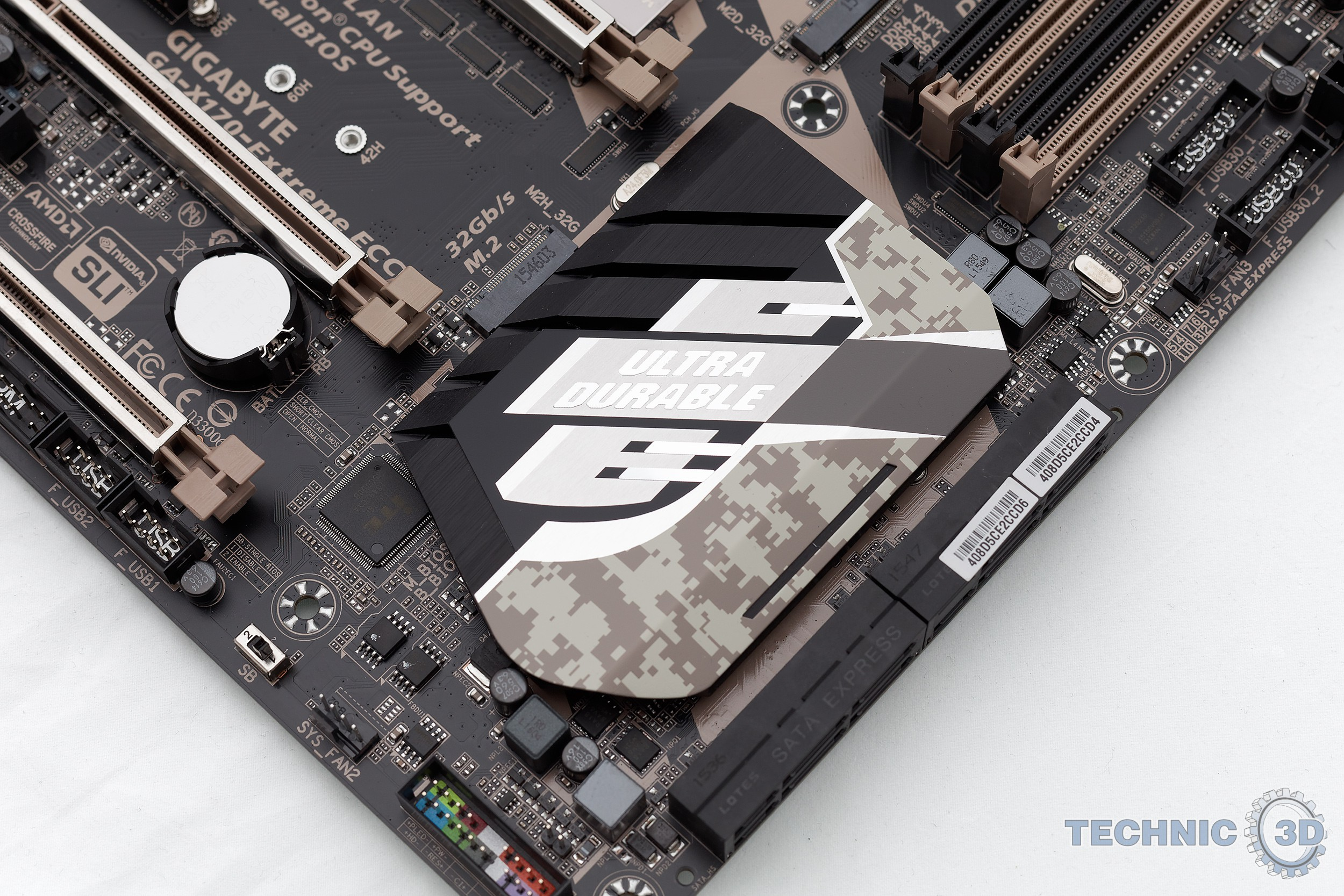 Gigabyte X170-Extreme ECC Mainboard im Test | Review | Technic3D