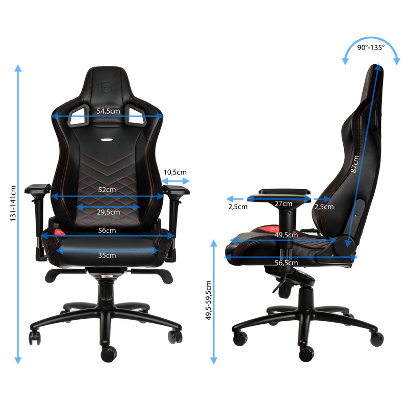 noblechairs EPIC Gaming Stuhl im Kurzcheck Review