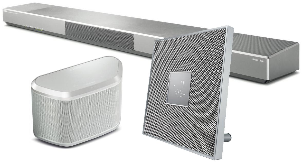 im test multiroomsystem yamaha musiccast trio audio. Black Bedroom Furniture Sets. Home Design Ideas