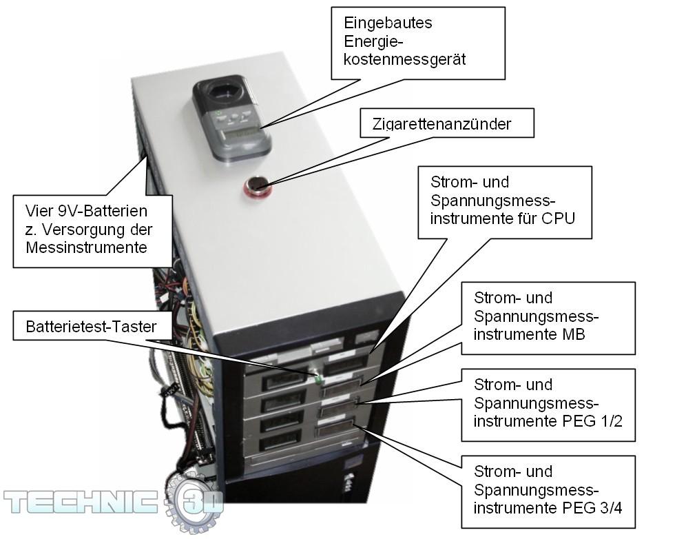 Arbeitsblatt Computer Beschriften : Technic d rüstet auf messung der leistungsaufnahme von