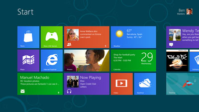 Microsoft Windows8 Consumer Preview