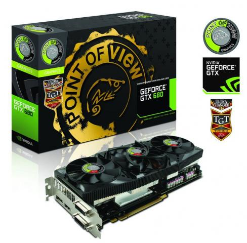 Point of View GeForce GTX 680 TGT Ultra Charged Edition Triple Fan