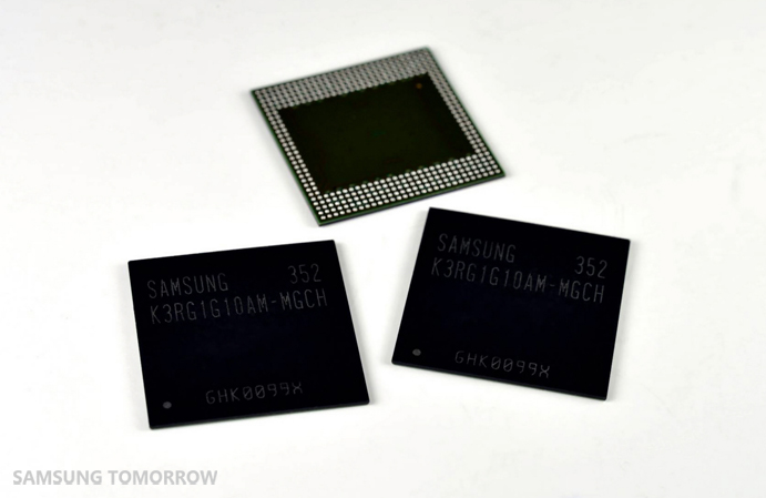 Industrys First 8Gb LPDDR4 Mobile DRAM 01