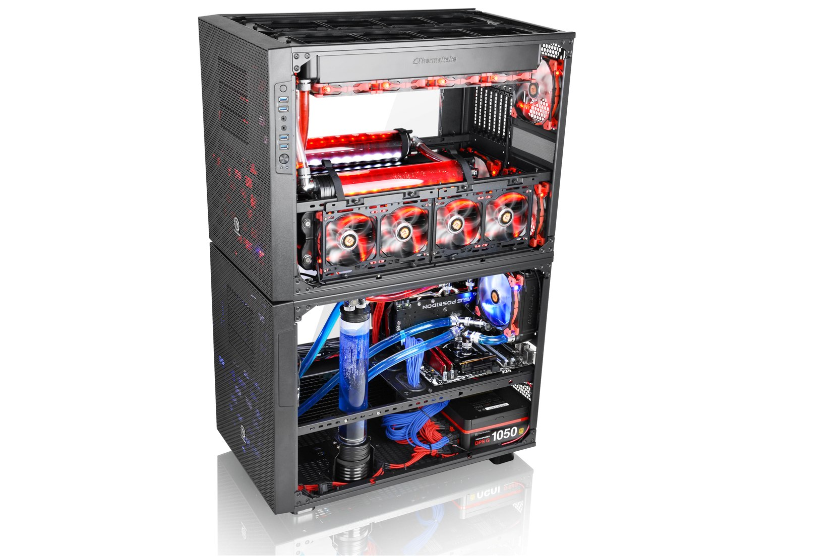CES 2015: Thermaltake Core X1, X2 und X9 Gehäuse mit ...