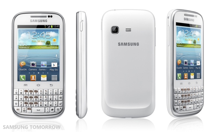 Share Smarter with Samsung GALAXY Chat 1