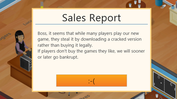 game dev tycoon private message