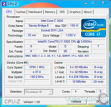intel core i7 3820 turbo