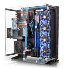 Thermaltake Core P5 ATX Open Frame Panoramic Viewing Gaming Computer Chassis is Tt LCS Certified