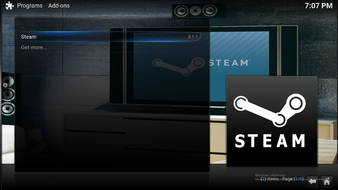 kodi steam launcher