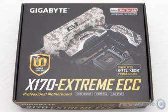 Gigabyte X170 Extreme ECC C236 Mainboard Verpackung1