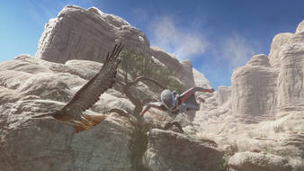 3dmark sky diver screenshot