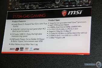 MSI Z170A G45 Gaming 2