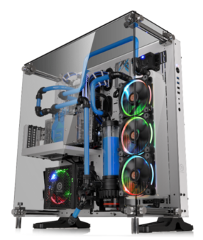 Thermaltake Core P5 Tempered Glass Snow Edition ATX Wall Mount Chassis 2...