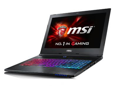 msi gaming notebook 2015