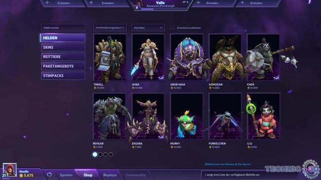 Heroes of the Storm Screenshot Technic3D 104