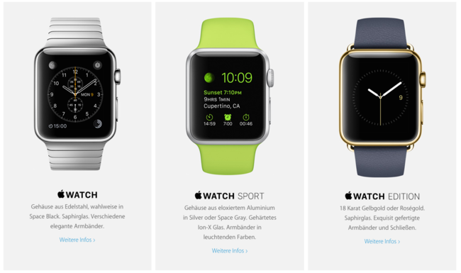 Apple Watch Web