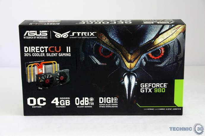 ASUS STRIX GeForce GTX 980 1