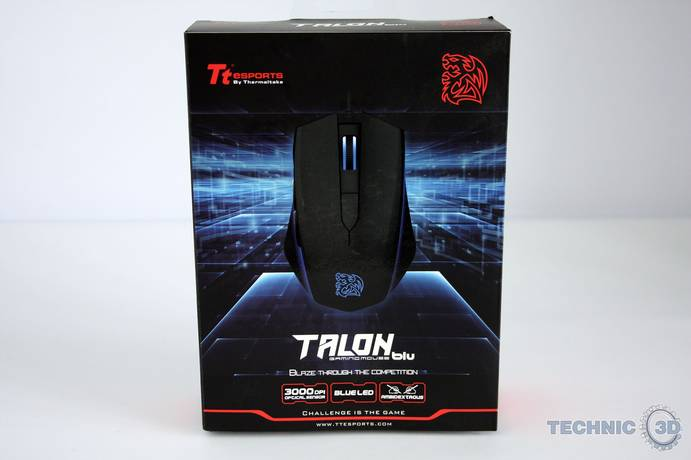 Tt eSports Talon blu Gaming Mouse 1