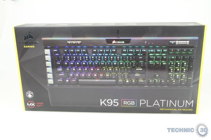Corsair K95 RGB Platinum Test Gaming Tastatur 001