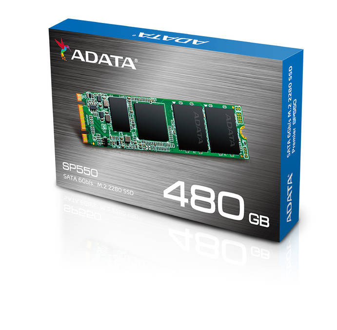 ADATA SP550 M.2 2280 Package