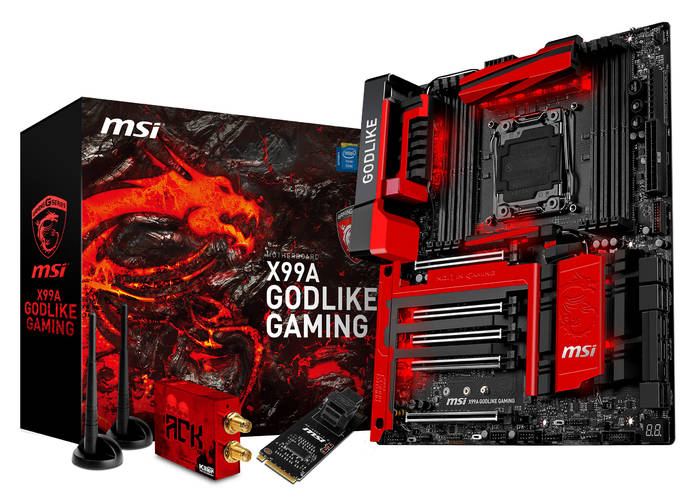msi x99a godlike gaming product pictures boxshot accessory