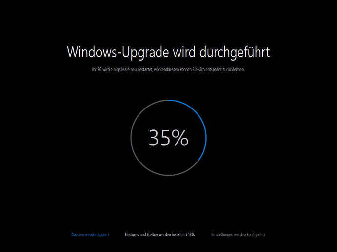 microsoft windows10 rtm update