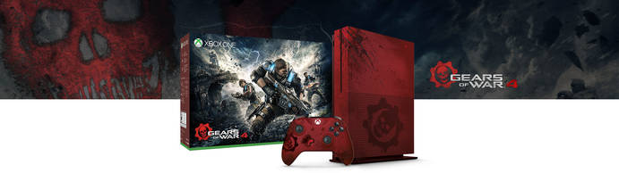 xbox one s bundle gears of war 4